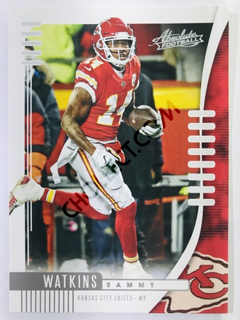Sammy Watkins - Kansas City Chiefs Panini Absolute Football 2019-20 #39 Base Card