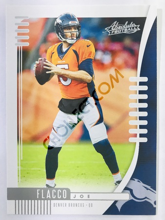 Joe Flacco - Denver Broncos Panini Absolute Football 2019-20 #45 Base Card