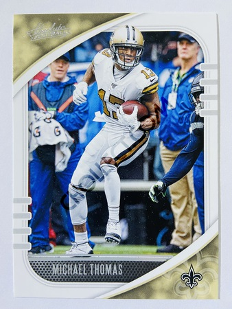 Michael Thomas - New Orleans Saints 2020-21 Panini Absolute Football #71