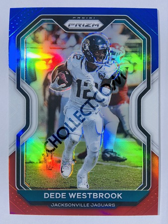 Dede Westbrook - Jacksonville Jaguars 2020-21 Panini Prizm Football Red/White/Blue Parallel #94