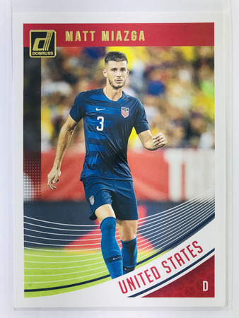 Matt Miazga - United States Panini Donruss Soccer 2018-19 #174 Base Card