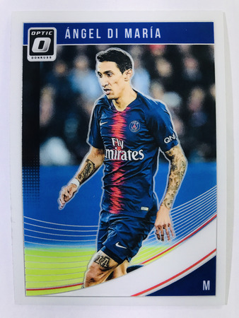 Angel Di Maria - Paris Saint-Germain Panini Donruss Soccer 2018-19 #54 Optic Base