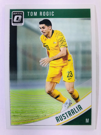 Tom Rogic - Australia Panini Donruss Soccer 2018-19 #96 Optic Base