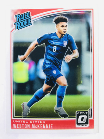 Weston McKennie - United States Panini Donruss Soccer 2018-19 #199 Rated Rookie Optic