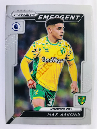 Max Aarons - Norwich City Panini Prizm Premier League 2019-20 #19 Emergent
