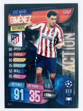 Jose Maria Gimenez - CLUB ATLETICO DE MADRID