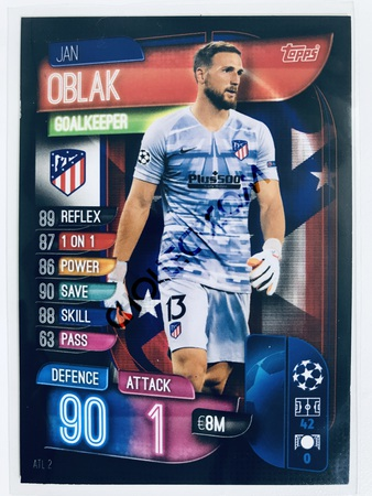 Jan Oblak - CLUB ATLETICO DE MADRID