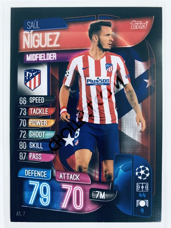 Saul Niguez - CLUB ATLETICO DE MADRID