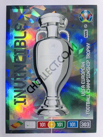 Euro 2020 Trophy (UEFA) - Invincible | Panini Adrenalyn XL UEFA Euro 2020 #5