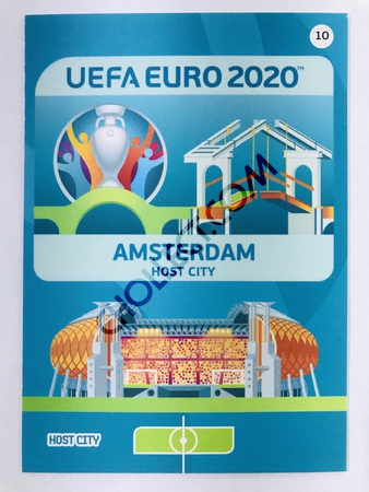 Amsterdam (Netherlands) - Host City | Panini Adrenalyn XL UEFA Euro 2020 #10