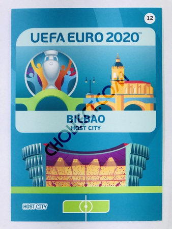 Bilbao (Spain) - Host City | Panini Adrenalyn XL UEFA Euro 2020 #12