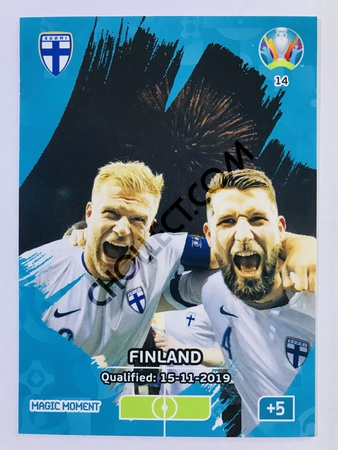 Finland Qualified - Magic Moment | Panini Adrenalyn XL UEFA Euro 2020 #14