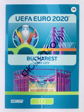Bucharest (Romania) - Host City | Panini Adrenalyn XL UEFA Euro 2020 #16