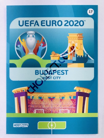 Budapest (Hungary) - Host City | Panini Adrenalyn XL UEFA Euro 2020 #17