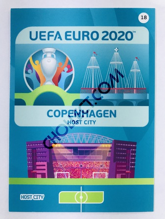 Copenhagen (Denmark) - Host City | Panini Adrenalyn XL UEFA Euro 2020 #18