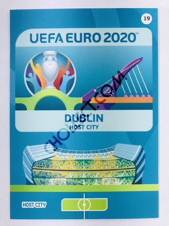 Dublin (Republic of Ireland) - Host City | Panini Adrenalyn XL UEFA Euro 2020 #19