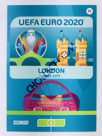London (England) - Host City | Panini Adrenalyn XL UEFA Euro 2020 #21