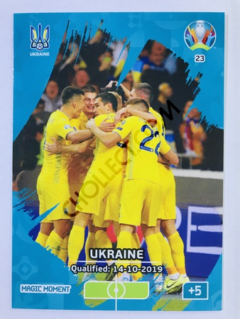 Ukraine Qualified - Magic Moment | Panini Adrenalyn XL UEFA Euro 2020 #23