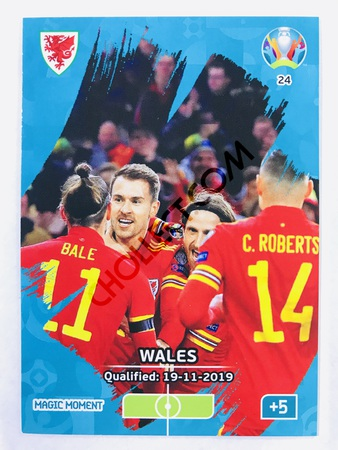 Wales Qualified - Magic Moment | Panini Adrenalyn XL UEFA Euro 2020 #24