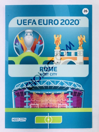 Rome (Italy) - Host City | Panini Adrenalyn XL UEFA Euro 2020 #26