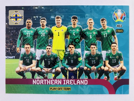 Nothern Ireland - Play-Off Team | Panini Adrenalyn XL UEFA Euro 2020 #461