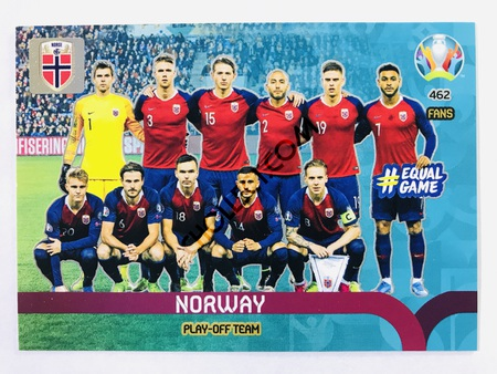 Norway - Play-Off Team | Panini Adrenalyn XL UEFA Euro 2020 #462