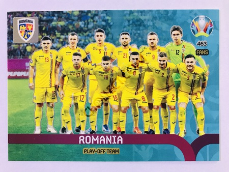 Romania - Play-Off Team | Panini Adrenalyn XL UEFA Euro 2020 #463