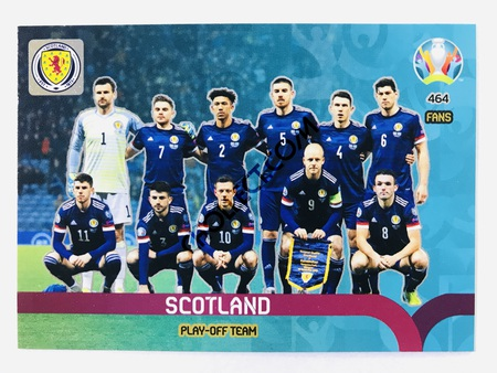 Scotland - Play-Off Team | Panini Adrenalyn XL UEFA Euro 2020 #464