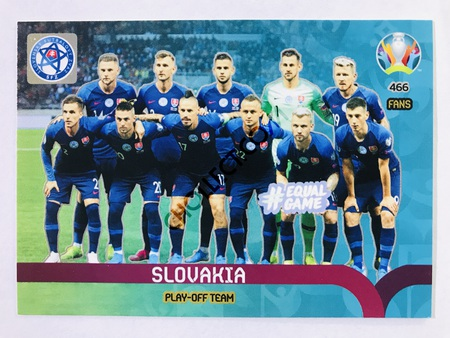 Slovakia - Play-Off Team | Panini Adrenalyn XL UEFA Euro 2020 #466