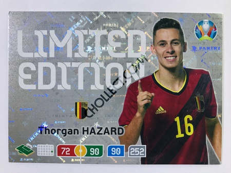 Thorgan Hazard (Belgium) - Limited Edition | Panini Adrenalyn XL UEFA Euro 2020 #LE