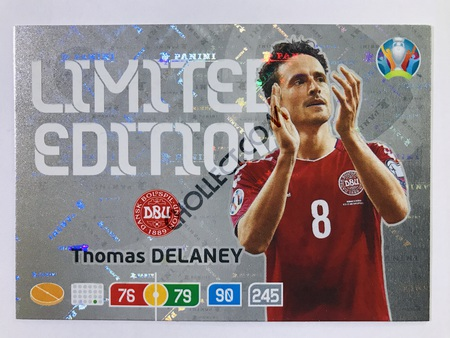 Thomas Delaney (Denmark) - Limited Edition | Panini Adrenalyn XL UEFA Euro 2020 #LE