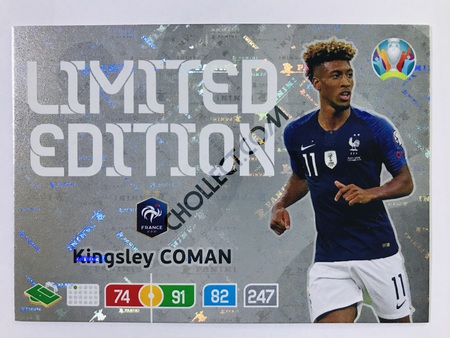 Kingsley Coman (France) - Limited Edition | Panini Adrenalyn XL UEFA Euro 2020 #LE