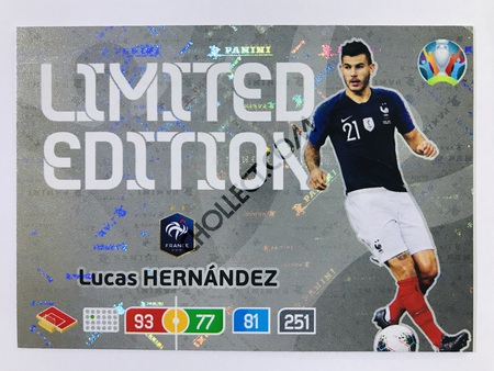 Lucas Hernandez (France) - Limited Edition | Panini Adrenalyn XL UEFA Euro 2020 #LE