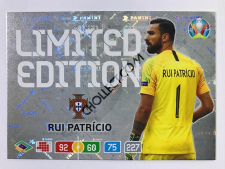 Rui Patricio (Portugal) - Limited Edition | Panini Adrenalyn XL UEFA Euro 2020 #LE