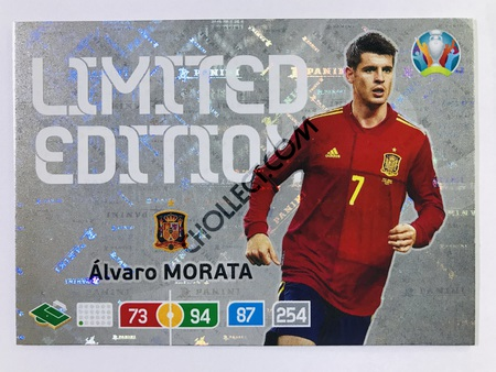 Alvaro Morata (Spain) - Limited Edition | Panini Adrenalyn XL UEFA Euro 2020 #LE