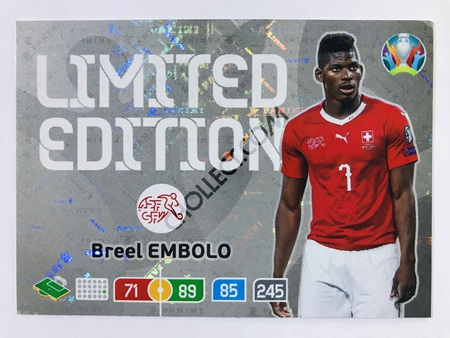 Breel Embolo (Switzerland) - Limited Edition | Panini Adrenalyn XL UEFA Euro 2020 #LE