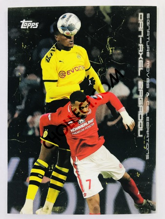 Dan-Axel Zagadou (Signature Moves & Celebrations) 2020 Topps 2020 BVB Borussia Dortmund Soccer Cards #28