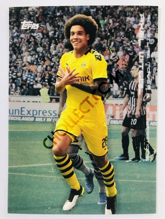 Axel Witsel (Signature Moves & Celebrations) 2020 Topps 2020 BVB Borussia Dortmund Soccer Cards #30