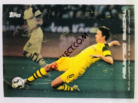 Thomas Delaney (Signature Moves & Celebrations) 2020 Topps 2020 BVB Borussia Dortmund Soccer Cards #31