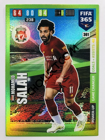 Mohamed Salah (Liverpool FC) - Game Changer | 2020 Adrenalyn XL FIFA 365 #361