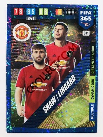 Jesse Lingard (Manchester United) - Dynamic Duo | 2020 Adrenalyn XL FIFA 365 #371