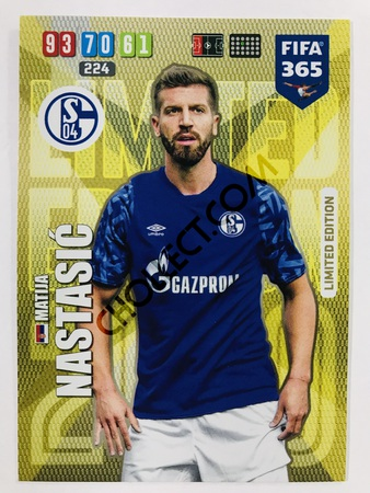 Matija Nastasic (FC Schalke 04) - Limited Edition | 2020 Adrenalyn XL FIFA 365