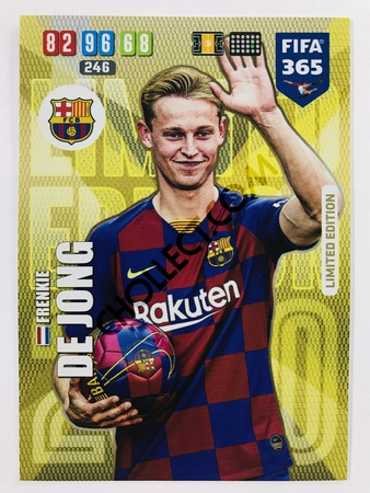 Frenkie de Jong (FC Barcelona) - Limited Edition | 2020 Adrenalyn XL FIFA 365