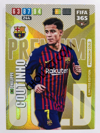 Philippe Coutinho (FC Barcelona) - Limited Edition Gold | 2020 Adrenalyn XL FIFA 365
