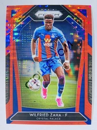 Wilfried Zaha - Crystal Palace 2020-21 Panini Prizm Red Pulsar Parallel #75