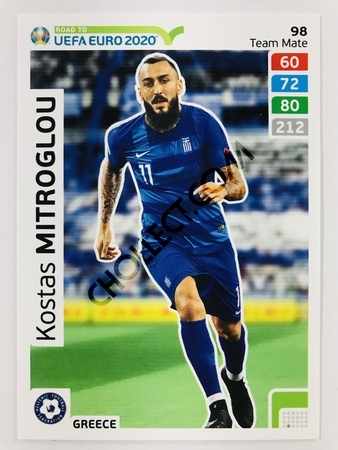 Kostas Mitroglou (Greece) | 2020 Road to UEFA Euro #98