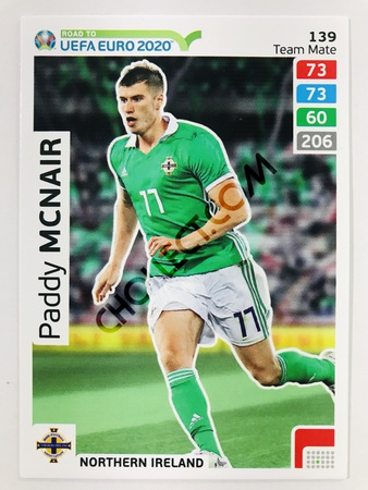 Paddy McNair (Northern Ireland) | 2020 Road to UEFA Euro #139