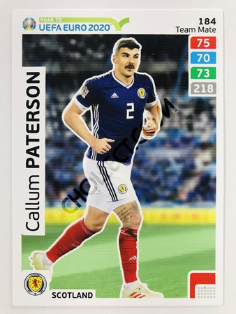 Callum Paterson (Scotland) | 2020 Road to UEFA Euro #184