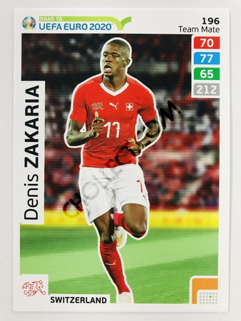 Denis Zakaria (Switzerland) | 2020 Road to UEFA Euro #196