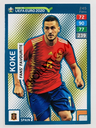 Koke (Spain) - Fans' Favourite | 2020 Road to UEFA Euro #245